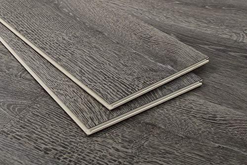Vesdura Vinyl Planks 8.5mm WPC Click Lock-XLRomulus Collection-Celestial Shadow(30.14sq. ft. per Box)
