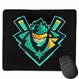N/ A Ninja YouTube, tappetino per il mouse, tappetino da scrivania, impermeabile, antiscivolo, per computer, 25 x 30 cm