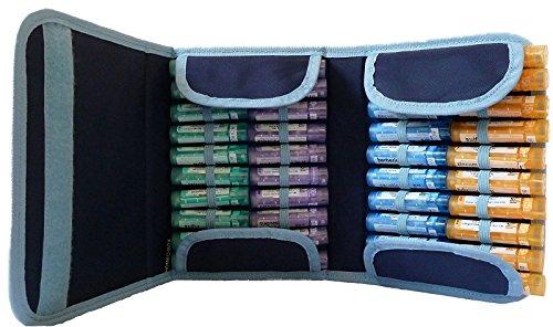 Estuche Homeopatía 40 unidades (azul)