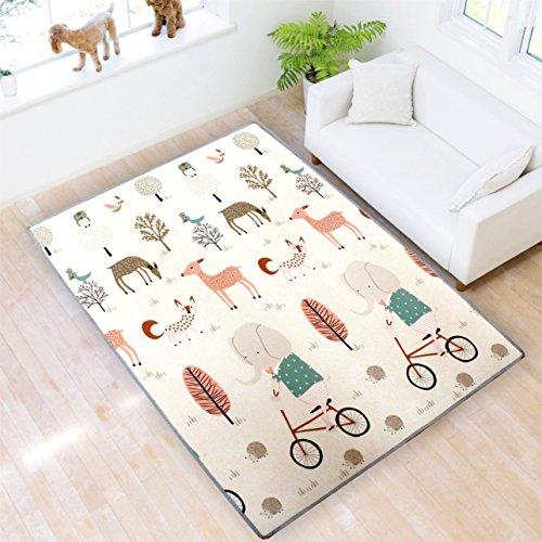 Play mat Baby PlayMat Baby mat Kids Play mat XPE Foam Floor Gym Slip Thickening...
