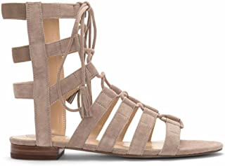 1a4e7ba47a0 Vince Camuto Helayn Women s Suede Open Toe Ghillie Caged Sandals Shoes