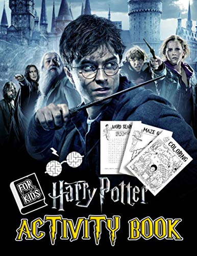 Harry Potter Activity Book: A Helpful Activity Book For Kids With Lots Of Games And Images Of Harry Potter To Learn And Relax