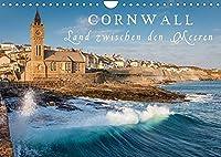 Cornwall - Land zwischen den Meeren (Wandkalender 2022 DIN A4 quer): Entdecken Sie faszinierende Kuesten, die raue Schoenheit und Urspruenglichkeit von Cornwall. (Monatskalender, 14 Seiten )