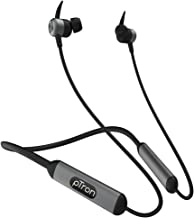 pTron Tangent Plus V2 with 18Hrs Playback & Type-C Fast Charging, Bluetooth 5.0 Wireless Headphones with Deep Bass, IPX4 W...