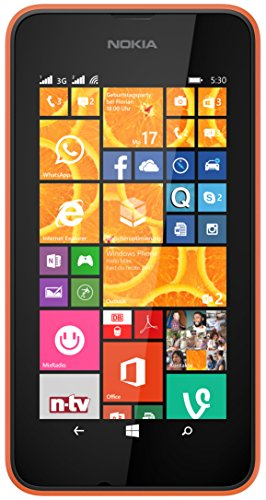 Nokia Lumia 530 Dual-SIM Unlocked GSM Windows 8.1 Quad-Core Phone - Grey