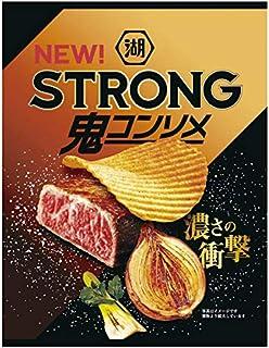 湖池屋 KOIKEYA STRONGポテトチップス 鬼コンソメ 56g ×12袋