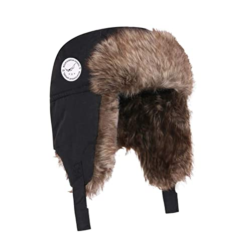 3dbd810b5973d7 Boys Winter Hats Big Kids Nylon Russian/Aviator Winter Earflap Cap