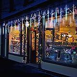 30Cm 10 Tubo 300 LED De Meteoros Lluvia Luces Impermeabilizan Cadena para Fiesta De Boda De Decoración del Árbol De Navidad