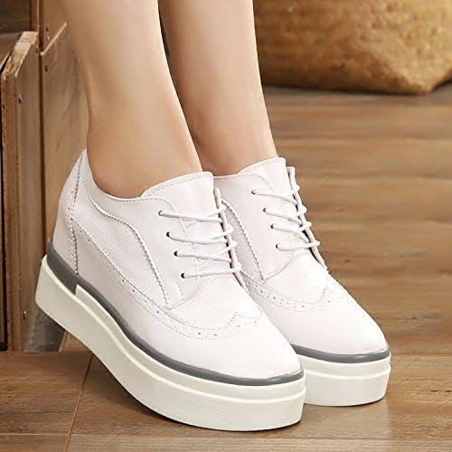 GTVERNH-La Musique A Des Chaussures Pour Femmes Des Chaussures Des Chaussures Blanches Les Chaussures Les Chaussures à Talons Bas De Pente épaisses Chaussures à Talon Unique 4 Trente - Neuf