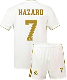 Sulnasport Real Madrid 2019-2020 Home 7 Hazard Jersey Kids/Youths/Short Colour White