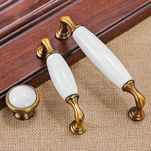 FICI Europese deurkruk Pull lade handgrepen brons koper dressoir handgrepen keuken kast handgrepen keuken hardware