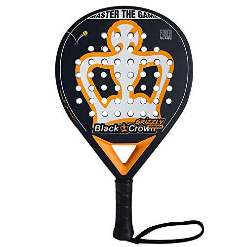 Pala de Pádel Grizzly Control | Black Crown | Nivel: Avanzado, Competición, Profesional | Potencia 95%, Control 100%