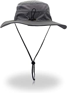 Boonie Hat Sun Protection UPF 50 Bucket Hat Foldable Brim Unisex Fishing Cap for Summer Outdoor Adventures Lawn Field Work