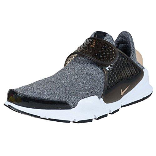 nike Womens Sock Dart SE Running Trainers 862412 Sneakers Shoes (38, black vanchetta tan white 001)