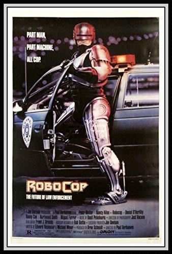 PostersAndCo TM Robocop Film Rixk – Poster / Kunstdruck 40 x 60 cm * d1 Poster Vintage / Retro / Alt (NO*)