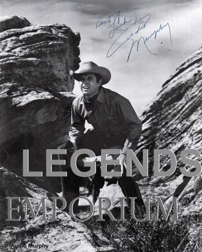 Limited time sale Special price for a limited time Photo Audie Murphy AM-01 Copy Autograph