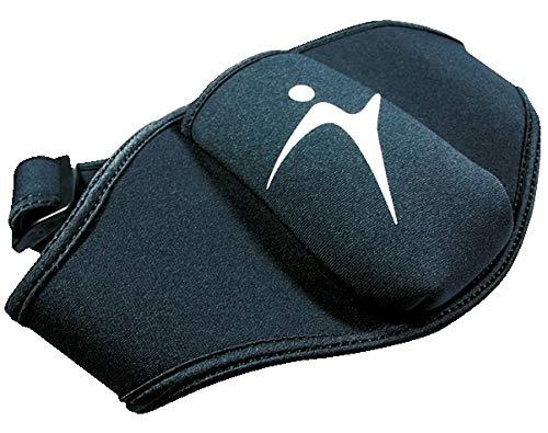 Sport-Thieme Mikrofon-Gürtel Micro-Belt | Bauchgurt für Gürtelsender, Headset, Smartphone | Für Trainer, Fitness, Jogging, Running | Bequem, Anpassbar, Waschbar | Neopren | Schwarz
