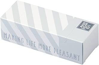 驚異の防臭袋 BOS (ボス) ★ストライプパッケージ/白色★SSサイズ200枚入 赤ちゃん用 おむつ ・ ペット うんち ・ 生ゴミ ・ サニタリー などの処理に