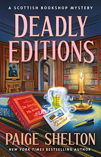 Deadly Editions: A Scottish Bookshop Mystery by [Paige Shelton]