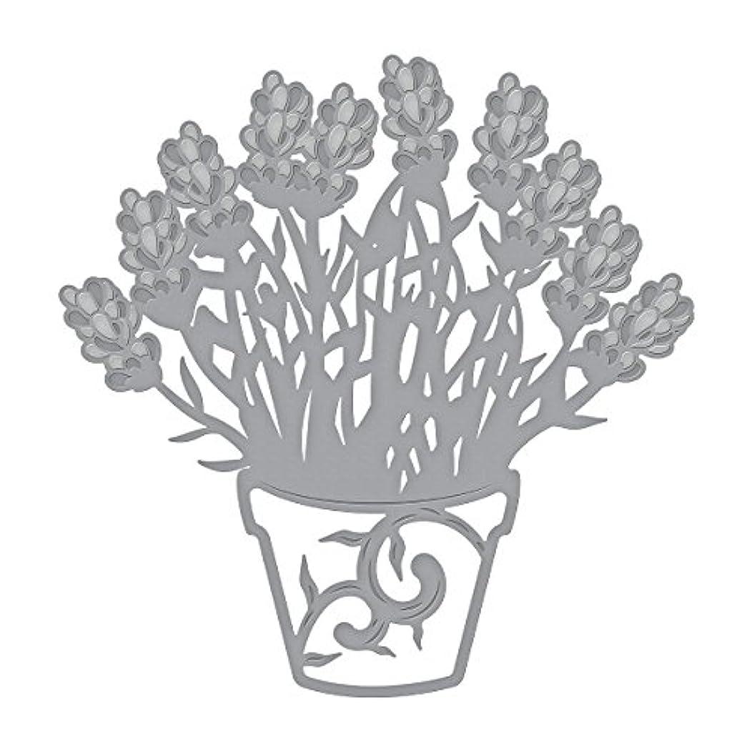 Spellbinders Die D-Lites Lavender Planter Etched/Wafer Thin Dies