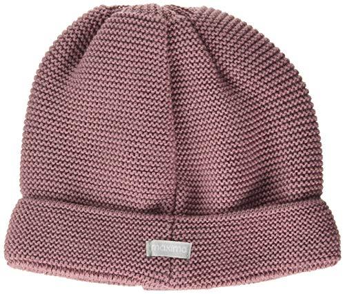 maximo Baby-Mädchen Umschlagmütze Beanie-Mütze, hellmauve, 43