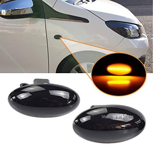 Dynamische Sequentielle LED Seitenblinker Blinker Laufeffekt Peugeot 307 206 407 107 607 1007 Partner Expert