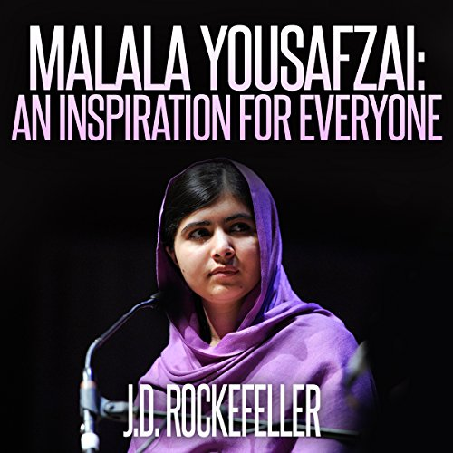Malala Yousafzai audiobook cover art
