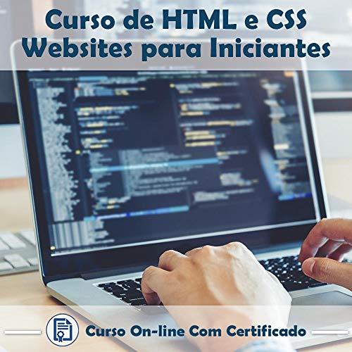 Curso Online de HTML e CSS – Websites Para Iniciantes com Certificado