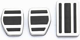 Acero Inoxidable del Pedal del Coche Relleno Cubra MT for Vauxhall Opel Astra//Insignias 2011-2015 for Chevrolet Cruze USPANDI Accesorios de Coches