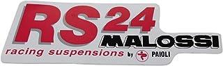 Aufkleber Malossi RS24, 140x45 mm, 1 Stück
