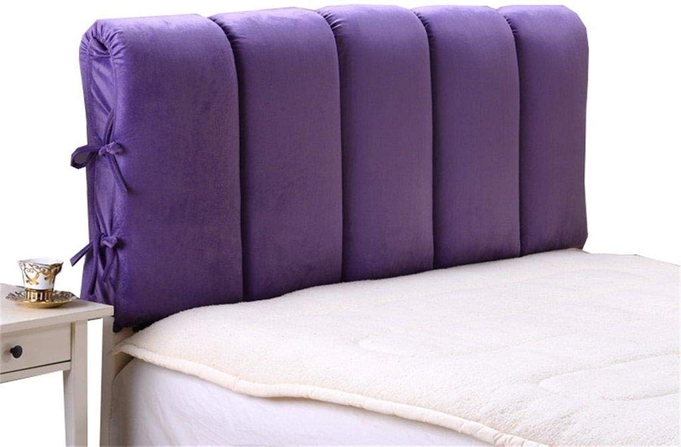 Oreiller standard Grand coussin de tête de lit oreiller Coussin Grand dossier amovible Literie canapé oreiller lombaire (Taille   160  60cm)