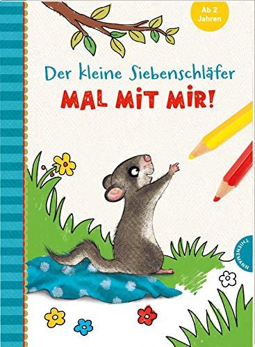Der kleine Siebenschläfer: Mal mit mir!: Malbuch für Kinder ab 2 Jahren