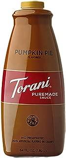 Torani Pumpkin Pie Sauce(64 Fl Oz) 2 Pack by Torani
