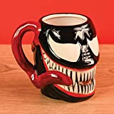 Venom SCMG25111 (Head) Shaped Mug, Multicolore