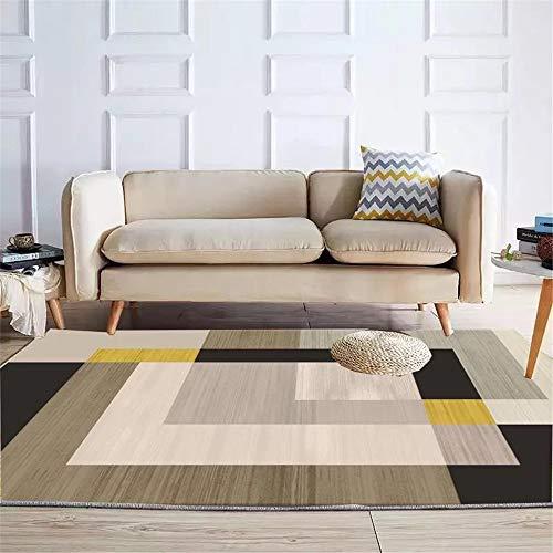 MLKUP Carpet Living Room Rug Microfiber Modern Rug Soft Kindergarten Large Mat Children'S Indoor Rug 140x200cm
