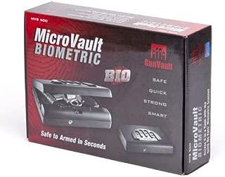 GunVault Microvault Biometric Biometric Pistol Safe MVB500