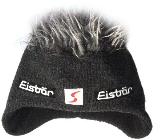 Eisbär Cocker - Gorro de esquí para Hombre Graphite/Grey Talla:Talla única