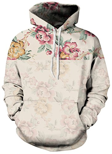 Flower Mens Sweatshirt