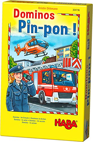 HABA Jeu - Domino Pin-pon! (Frans)