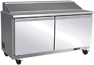 Centaur Plus CST-60 Sandwich Salad Top Refrigerator, Two Section 60