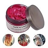 Haar Styling Wachs, Auoker Unisex 5 Farbe DIY Haarfärbemitteln Wachs Temporären Haar Modellierung...