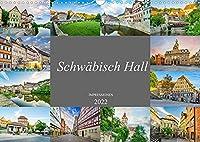 Schwaebisch Hall Impressionen (Wandkalender 2022 DIN A3 quer): Entdecken Sie die Stadt Schwaebisch Hall (Monatskalender, 14 Seiten )