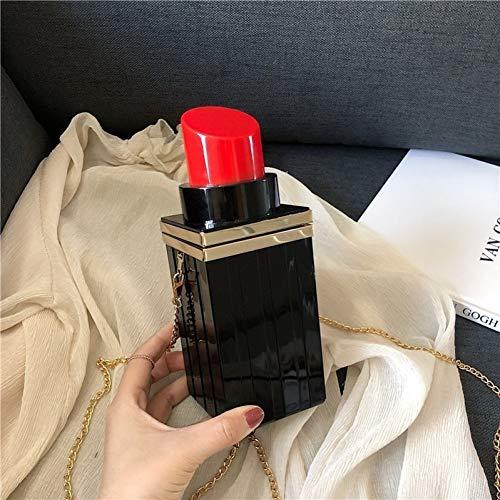 PCBDFQ damestas lippenstift vorm schouder crossbody tassen voor vrouwen New Box handtassen dames designer Messenger handtassen