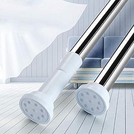 突っ張り棒 強力つっぱり棒 ツッパリ棒 幅50-240CM 浴室用ステンレス超強力伸縮棒 取付寸法 115~190cm 耐荷重60~15kg