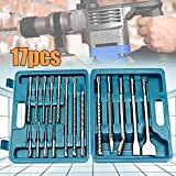 TLF-FF 17pcs / Set Brocas cincel, herramientas de...