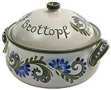 Panera original de Vivapollo, de cerámica de gres, con forma redonda, hecha a...