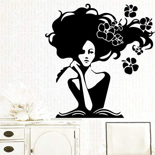 sxh28185171 Hermosa Mujer Vinilo Cocina Pared Papel Pintado bebé habitación Vinilo Arte calcomaníaM 30cm X 31cm