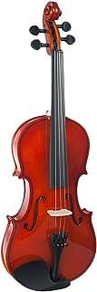1/8Violinsize Student Violin Set for 4-5 Years Old Kids Children with Hard Case
