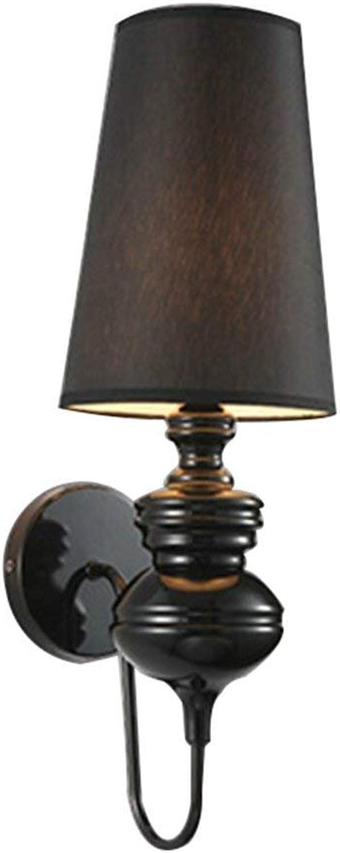HYW Wandleuchte-neoklassische kreative führte Wchter Eisen Wandlampe Wohnzimmer Schlafzimmer Nachttisch Restaurant Gang Wandlampe (Farbe, Gre optional) - Wandbeleuchtung Dekorationen,A-S