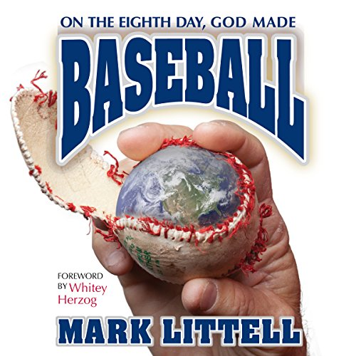 On the Eighth Day, God Made Baseball audiobook cover art